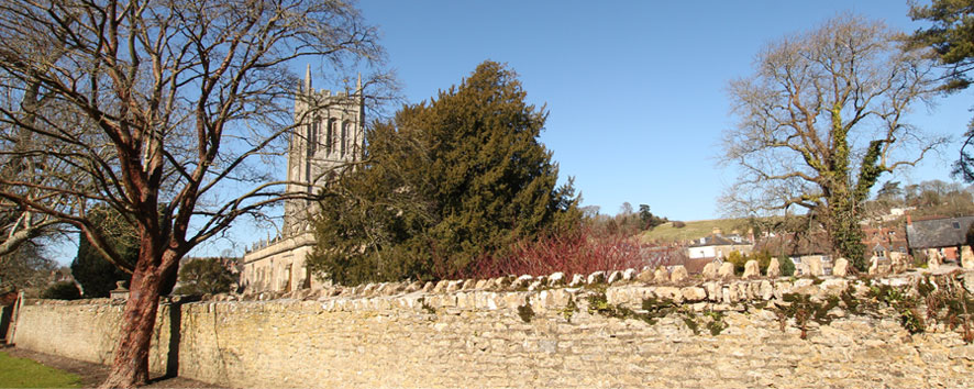 St. Mary's Bruton from the South East